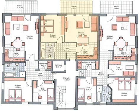 5 familienhaus grundriss grundrisse modernes wohnen in wennigsen