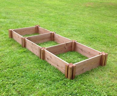 Wooden Raised Garden Bed Kits by Gardening Works Wooden Raised Beds Compost Bins