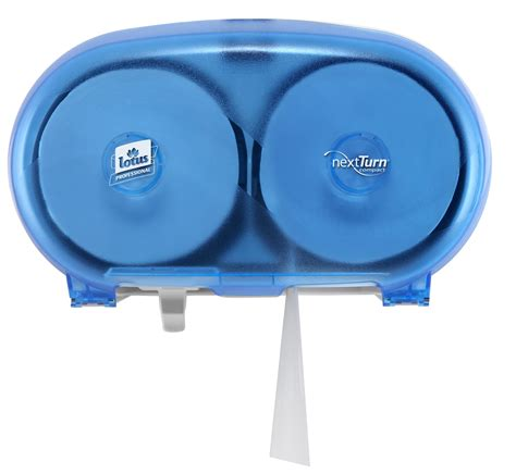 toilet paper dispenser compact nextturn ensure blue lotus