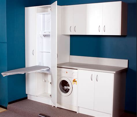 laundry design ideas custom built cabinets creativ
