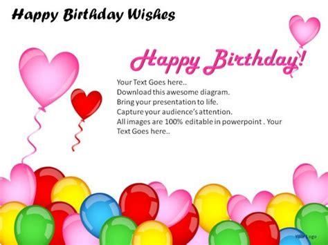 Happy Birthday Wishes Powerpoint Presentation Slides Happy Birthday Powerpoint