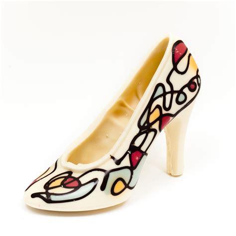 Heels Choco choco artist squiggle large shoe 165g achica