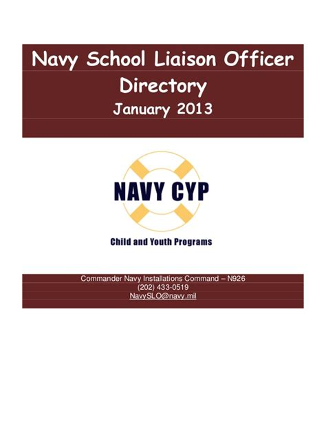 naval center portsmouth phone directory 2013 01 11 navy slo directory