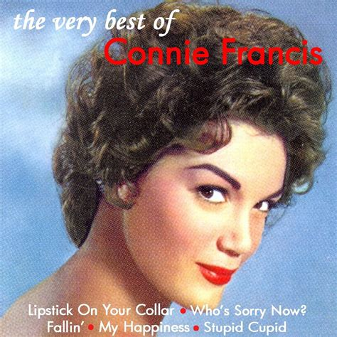 the best of connie francis connie francis best of audiosonic