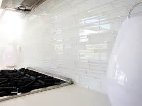 white backsplash tile white glass tile backsplash kitchen midcentury with