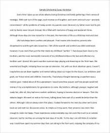 Scholarships Essays Exles by Scholarship Essay Exle 9 Sles In Word Pdf