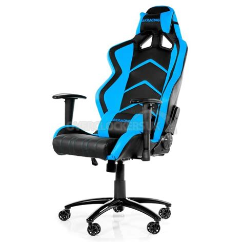 blue gaming chair ak racing player gaming chair black blue ocuk