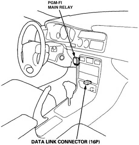 91 honda accord starter relay location get free image