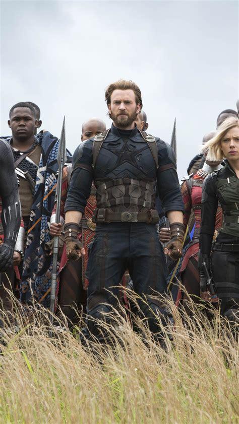 wallpaper avengers infinity war black widow captain