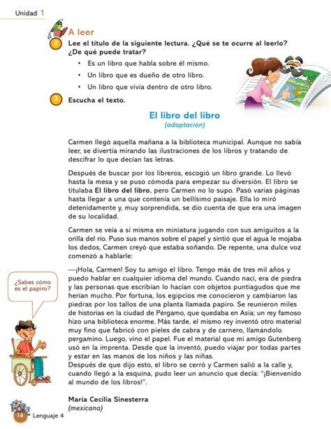 leer libro de texto el umbral de la cuentos infantiles para cuarto grado libro de texto cuarto grado