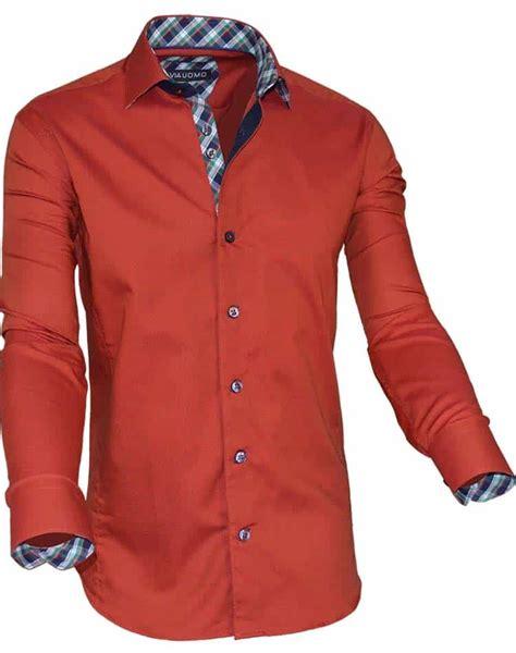 rust colored shirt european dress shirt rust color dress shirt via uomo