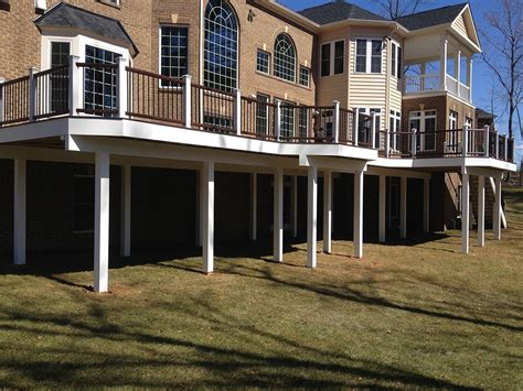 deck installation maryland dc va recco s landscaping