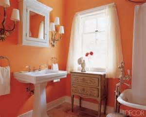 Orange Bathroom Ideas by Orange Bathroom Decorating Ideas Interior Design