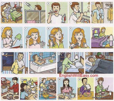 imagenes verbos reflexivos 1000 images about espa 241 ol la rutina diaria on pinterest
