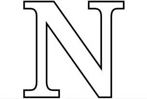 n color letter n coloring pages to and print for free
