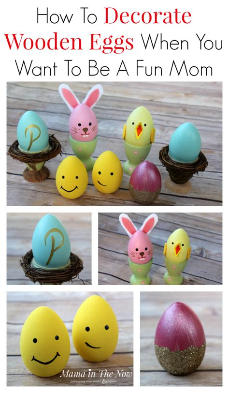 how to decorate eggs how to decorate wooden eggs when you want to be a fun mom