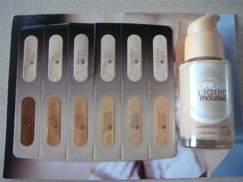 Maybelline Satin Liquid Foundation 30ml Termurah maybelline liquid mousse reviews photos