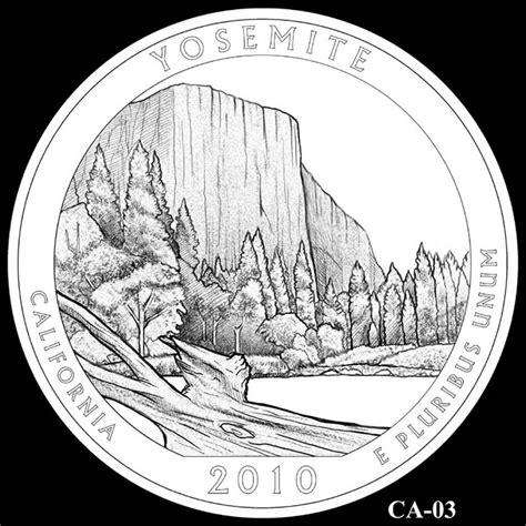 design quarter yosemite national park quarter california 2010 america