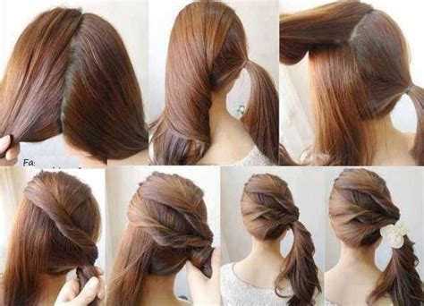 hair style step by step pic girls latest chic hair styles with steps hairzstyle com