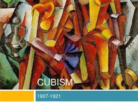 picasso paintings ppt cubism