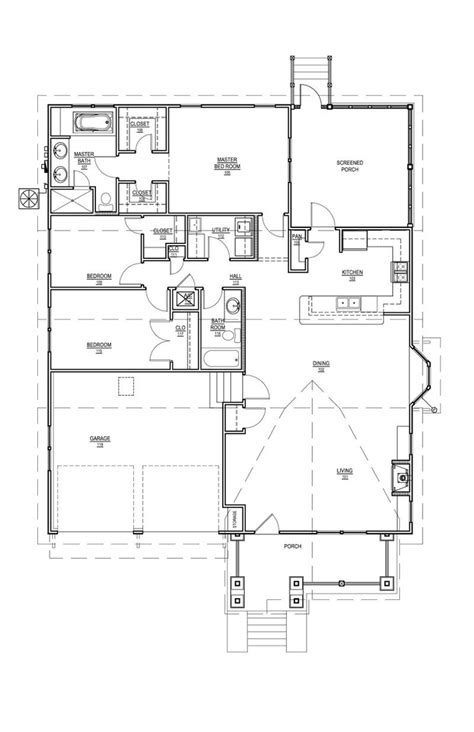 visualize square feet house plan 536 8 exclusive design by bruce b tolar 5 copy