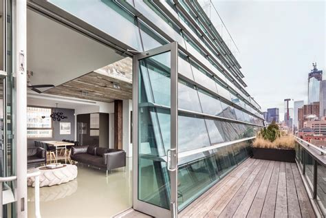 Nyc Apartments Glass 497 Greenwich Penthouse 3 Homedsgn