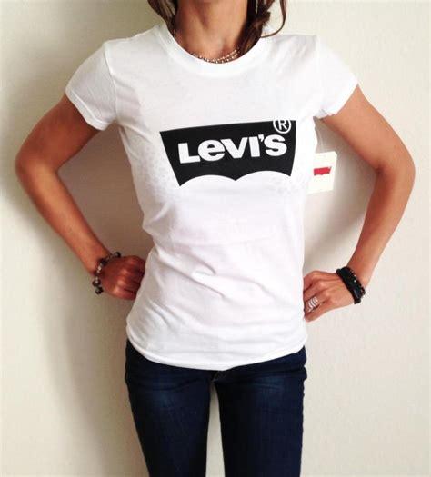 T Shirt S A S new levi s s levis t shirt white black levis