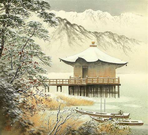 imagenes de paisajes naturales japoneses cuadros modernos pinturas y dibujos legendarias
