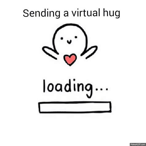 Hug And hug on make a gif