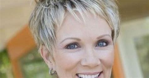 hairstyles cut around the ear great pixie haircut for women over 50 with short thick
