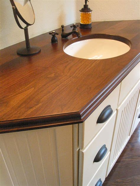 Solid Wood Bar Tops by 1000 Images About Custom Wood Countertops On