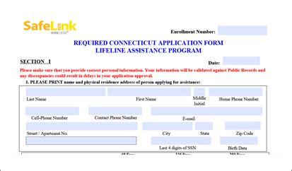 printable safelink application