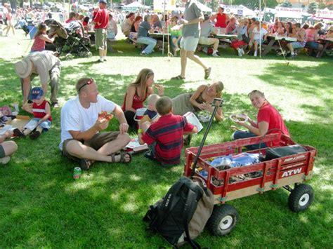 Bend Lapine School District Calendar July Fourth Festival In Park In Downtown Bend Oregon