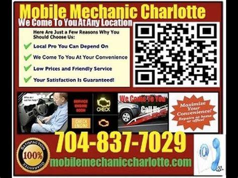 mobile mechanic near me mobile mechanic concord nc auto car repair service near me