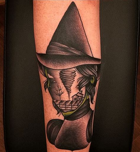 oz tattoo tuesday wizard of oz of the library