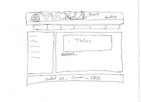 layout web sketch cool designs web design sketch