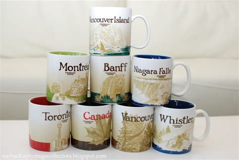 Starbucks City Mugs: CANADA GLOBAL ICONS