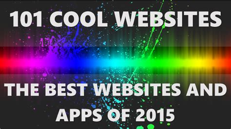 cool app websites top 101 cool websites and apps what s interesting so far