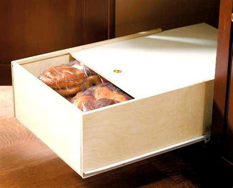 Baked Goods Shelf by Bread Drawer Pull Out Sliding Pastry Shelf