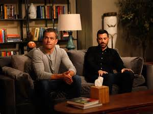 Jimmy Kimmel Mat Damon by Jimmy Kimmel And Matt Damon Try To Work Out Their