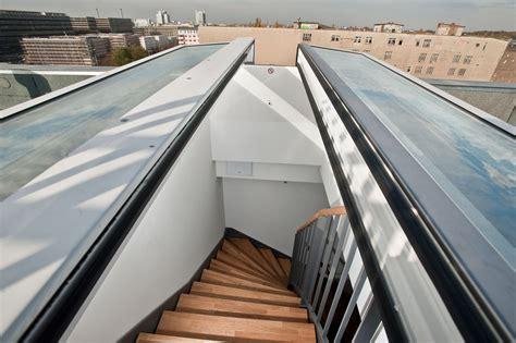 Dachterrasse Ausstieg by Flachdachfenster Als Ci System Glaselement F Lamilux