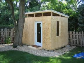 Flat Roof Shed Frame Flat Shed Roof Free Green House Plans