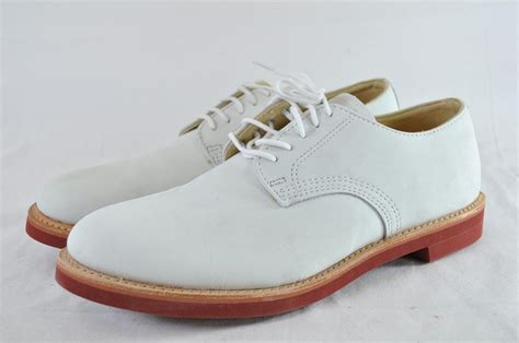 walkover shoes walk george e keith derby white leather buc