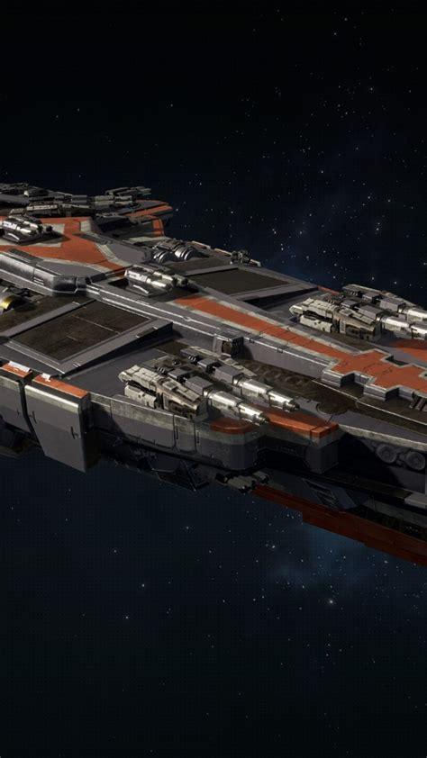 wallpaper dreadnought space ship pc ps  xbox