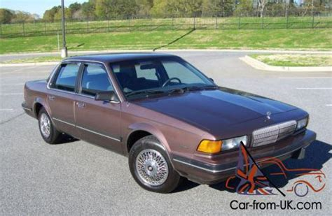 1989 buick century limited