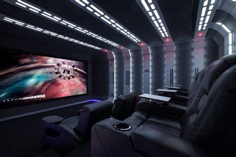 Wars Interior by Wars Home Theatre Gets Dolby Atmos Screen Excellence