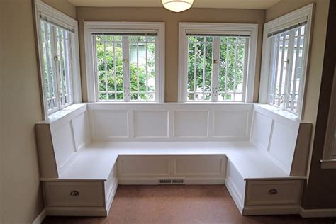 How To Build A Banquette Out Of Cabinets by Sellwood Banquette Traditional Dining Room Portland By Paul Johnson Carpentry Remodeling