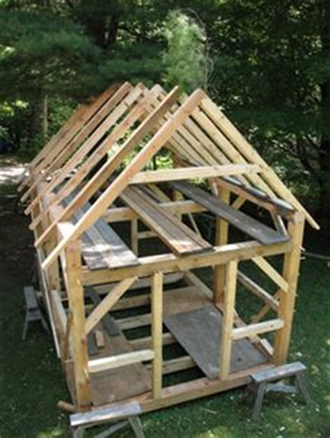 timber frame shed plans pinterest roof pitch