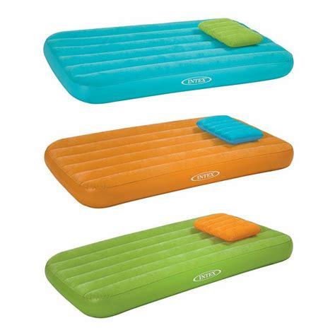 intex kidz kids airbed toddler inflatable mattress