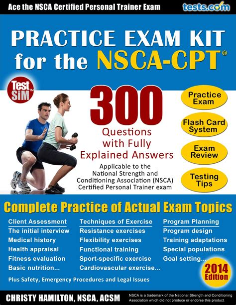 Personal Trainer Questions by Nsca Personal Trainer Practice Kit